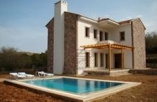 Stone Villa Construction With Pool in Eski Datca